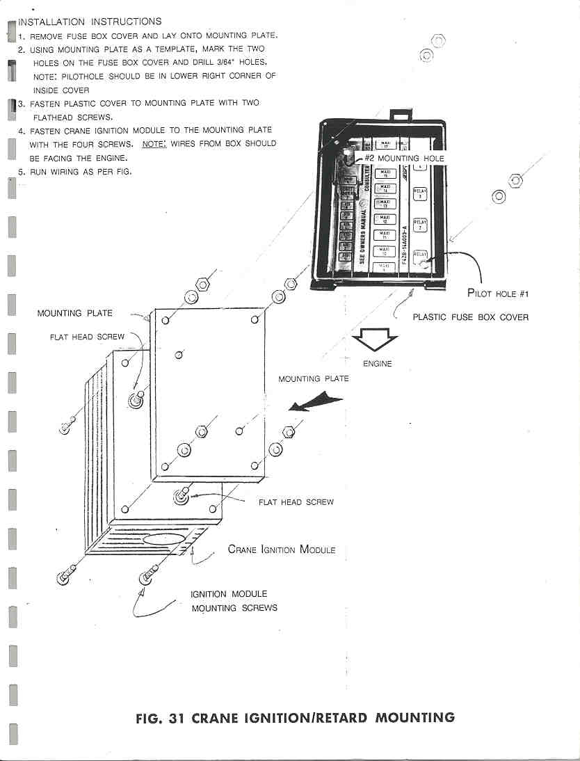 Welcome To Crane Ignition Wiring Diagram Figure 31 36 Retard Mounting
